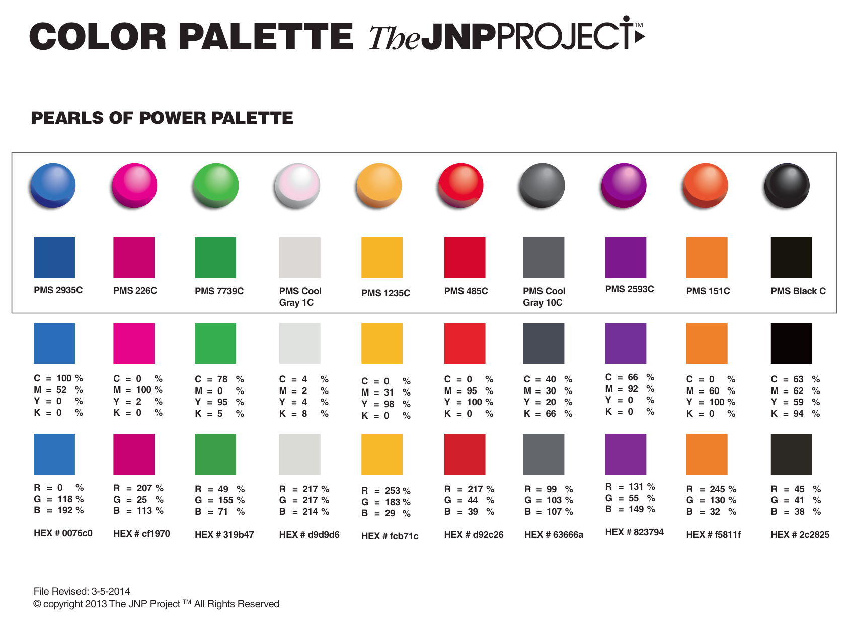 #34: BRAND COLOR PALETTE SPRINGBOARD   Adventures to Awesome
