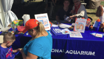 JNP Event Booth at the National Aquarium