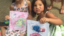 Fun Time Coloring At First Sundays Art Festival, Annapolis, MD