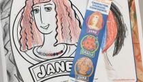 Joanna, 11, Rochester, NY, Coloring Jane