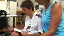 Ian (14) Reads Book 2!