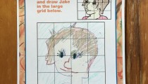 Abby, 10, Annapolis, MD, Drawing Jake