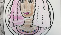 Rebecca, 10, Sydney, Australia, Coloring Jane